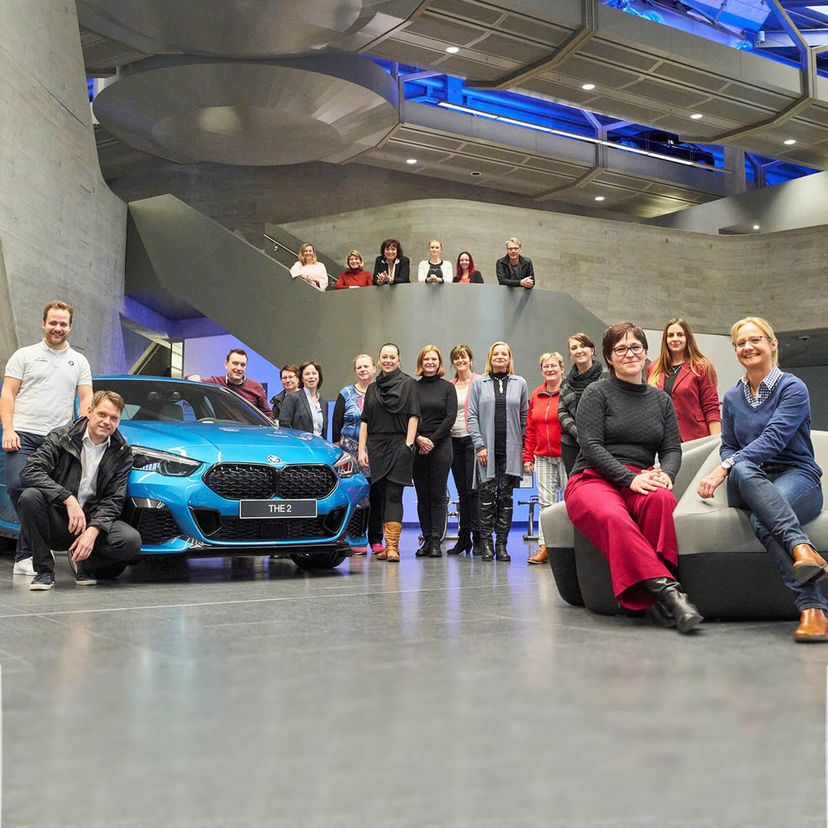 Wirtschaftskreis Berlin-Pankow - Besichtigung des BMW Werk in Leipzig, 06.03.2020, Foto: Swen Gottschall, bloominds GbR